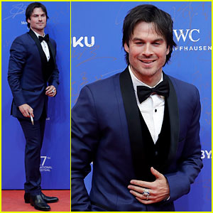 Ian Somerhalder Looks So Suave at Beijing Film Festival!