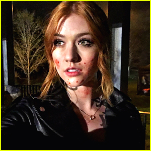 Katherine McNamara Teases 'Bloody' Season Ahead For 'Shadowhunters' in New Set Pic