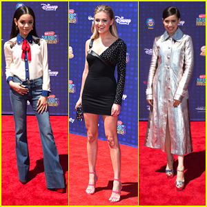 Sofia Carson, Kelsea Ballerini & Jenna Ortega Are Hostesses With The Mostess at RDMAs 2017