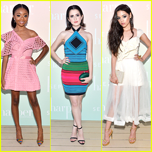 Laura Marano, Skai Jackson & Jenna Ortega Slay The Style Game at 'harper Harper's Bazaar' Event