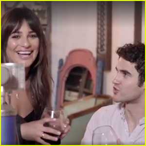 Lea Michele & Darren Criss Throw It Back to 'Glee' With 'Don't You Want Me' Duet (Video)