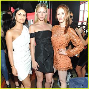 Riverdale's Camila Mendes, Madelaine Petsch & Lili Reinhart Celebrate Marie Claire's Fresh Faces