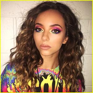 Little Mix's Jade Thirlwall Rainbow Eye Makeup Is Perfect For Coachella!