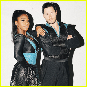 EXCLUSIVE: Normani Kordei Debuts Fierce BTS Pics From 'DWTS' Disney Night (Photo Diary)
