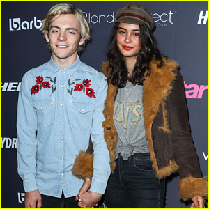 Ross Lynch & Courtney Eaton Have Date Night Out at Hollywood Party