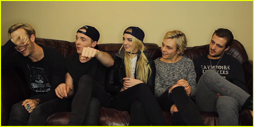 Rydel Lynch Plays Sibling Tag With Ross, Riker, Rocky & Ryland & It's The Best Thing You'll Ever Watch