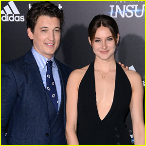 Divergent's Shailene Woodley & Miles Teller Reunite For Another New Movie!