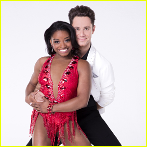 Simone Biles & Sasha Farber Contemporary Disney Night DWTS Season 24 Week 5