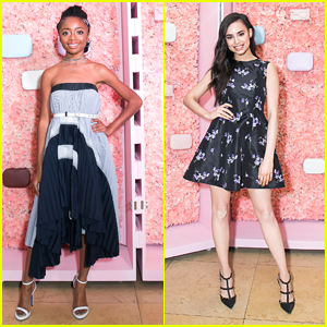 Skai Jackson & Sofia Carson Are Killing The Style Game at Pop & Suki Launch Party