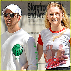 Sophie Turner Shows Off Joe Jonas' Name Written on Her Body!