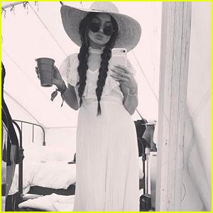 Vanessa Hudgens is Back at Coachella Weekend 2!