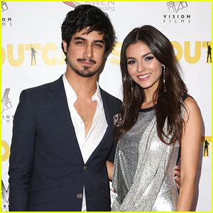 Victoria Justice & Avan Jogia Premiere Their New Film 'The Outcasts' in LA