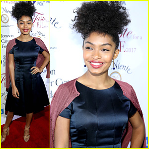 Yara Shahidi Brings Her Parents To UCLA's Taste For the Cure Event