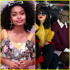 Yara Shahidi Wants in on the Rihanna & Lupita Nyong'o Movie