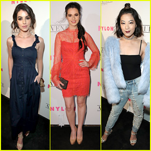 Adelaide Kane, Vanessa Marano & Arden Cho Celebrate Nylon's Young Hollywood Party in LA