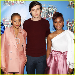 Amandla Stenberg Feels 'Lucky' To Star In 'Everything, Everything'!