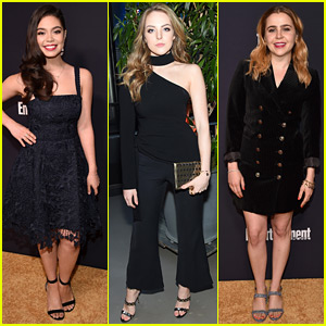Auli'i Cravalho, Elizabeth Gillies, & Mae Whitman Are Gorgeous Gals at EW & People Party!