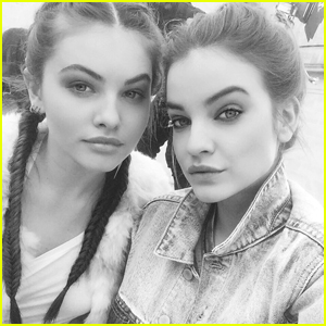Thylane Blondeau Has Found Her 'Twin' in Barbara Palvin