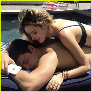 Bella Thorne Sends Super Sweet Birthday Message to Gregg Sulkin After His Pool Party!