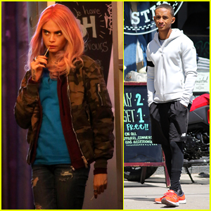 Cara Delevingne & Jaden Smith are Hard at Work on 'Life in a Year'!
