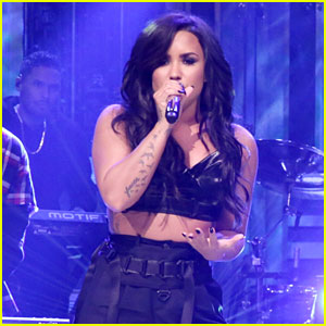 Demi Lovato Joins Cheat Codes for 'Tonight Show' Performance! (Video)