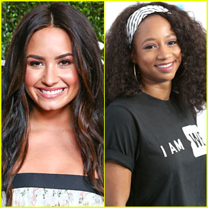 Demi Lovato & Monique Coleman Finally Met After All This Time