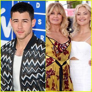 Nick Jonas & Kate Hudson Were Once Definitely an Item, According to Her Mom Goldie Hawn! (Video)