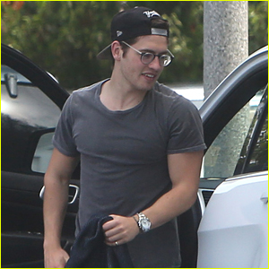 Gregg Sulkin Goes Shopping After Celebrating His Birthday with Ex Bella Thorne