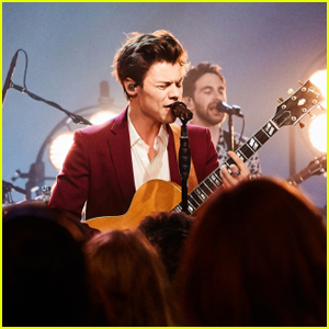 Harry Styles Performs 'Carolina' & 'Sign of the Times' on 'Late Late Show' - Watch Now!