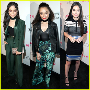 Jenna Ortega Wins The Night in Stunning Green Suit at Nylon Mag's Young Hollywood Party
