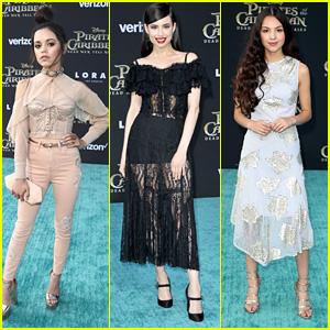 Jenna Ortega, Sofia Carson & Olivia Rodrigo All Win Best Dressed at 'Pirates' Premiere
