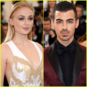 Joe Jonas & Sophie Turner Make Their Met Gala 2017 Debut