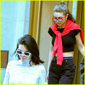 Kendall Jenner & Gigi Hadid Enjoy Girls' Night Out in NYC!