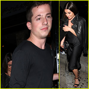 Lea Michele Steps Out for Dinner with Charlie Puth!