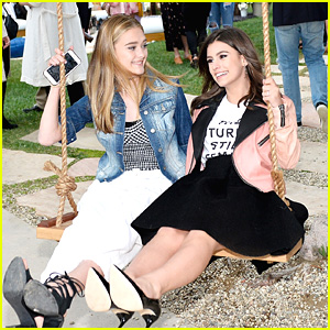 Nickelodeon Stars Lizzy Greene & Madisyn Shipman Have Girl's Day Out at Marc Jacobs' Daisy Party