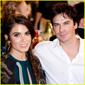 Ian Somerhalder Is Expecting First Child with Wife Nikki Reed!