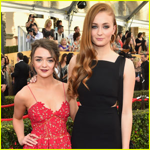 Sophie Turner Found Strength in Co-Star & BFF Maisie Williams