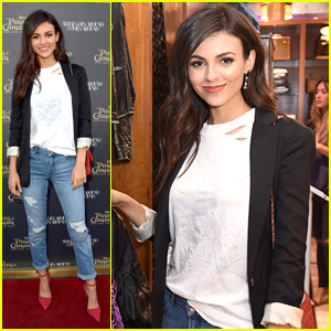 Victoria Justice Steps Out For 'Pirates of the Caribbean' Fashion Event