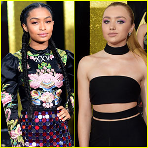 Yara Shahidi & Peyton List are Beautiful in Braids & Bandos at the MTV Movie & TV Awards 2017