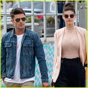 Are Zac Efron & Alexandra Daddario Dating? They Respond By Talking About Pickles