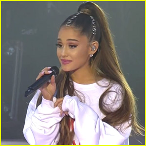 Ariana Grande Talks About Meeting Manchester Victim's Mother at 'One Love' Concert (Video)