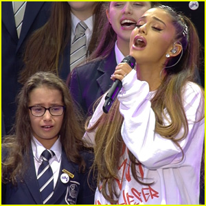 Ariana Grande Joins a Children's Choir for Emotional One Love Manchester Performance (Video)