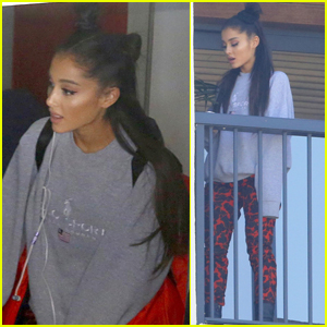 Ariana Grande Lands in Brazil Ahead of Her South American Tour!