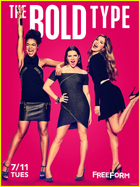 Katie Stevens' New Show 'The Bold Type' Delivers Powerful New Trailer - Watch!