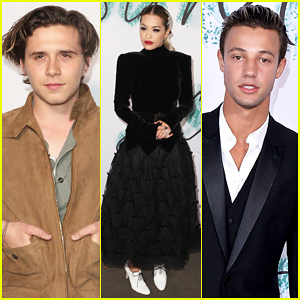 Brooklyn Beckham & Cameron Dallas Bring Their Good Looks To Serpentine Galleries Summer Party!