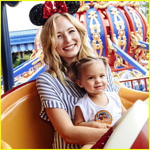 Candice King Takes Daughter Florence To Walt Disney World - Pics!