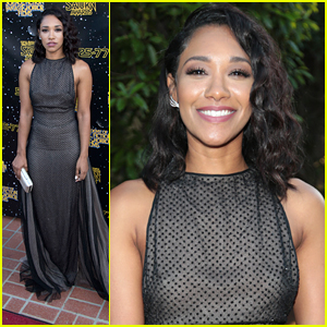 The Flash's Candice Patton Wins at Saturn Awards 2017!