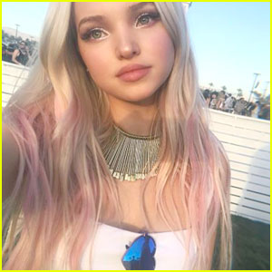 Dove Cameron & Thomas Doherty Post Matching Romantic Photos in Paris
