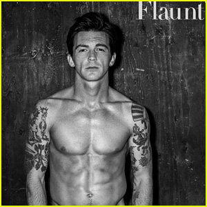 Drake Bell Looks So Hot for Shirtless 'Flaunt' Shoot!
