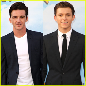 Drake Bell Joins Fellow Spider-Man Tom Holland at 'Spider-Man: Homecoming' Premiere